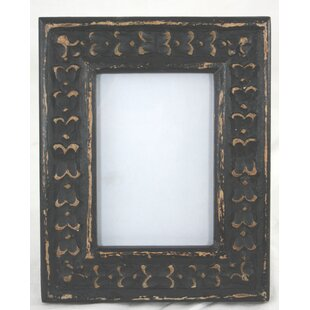 Rustic Carved Wooden Picture Frame Design