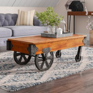 Railroad Cart Coffee Table Wayfair