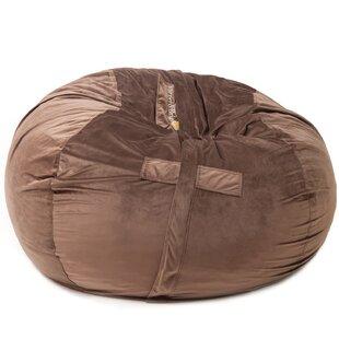Leather Bean Bag Chair | Wayfair