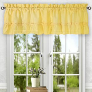Beau Ruffled Valances U0026 Kitchen Curtains Youu0027ll Love | Wayfair
