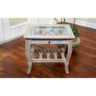 Glass Top End Table Wayfair