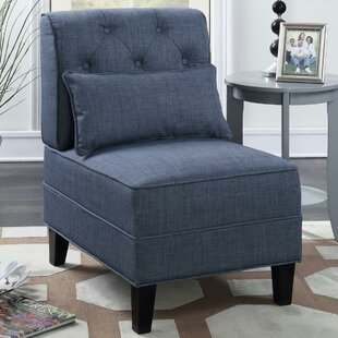 Blue Slipper Accent Chairs Youu0027ll Love | Wayfair