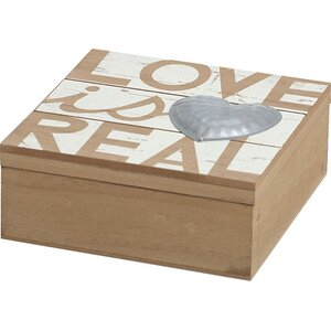 Love is Real Jewelry Box