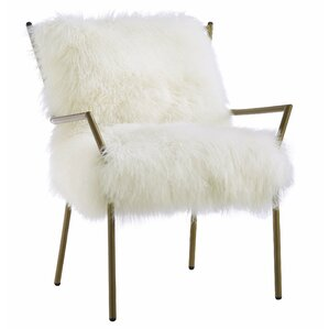 Ottavio Modern Sheepskin Armchair