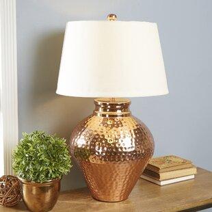 Hammered Brass Table Lamp Wayfair