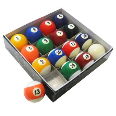 Attrayant Pool Table Regulation Billiard Ball Set
