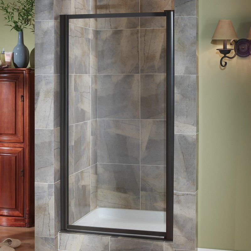 Hazelwood Home Chase 29 Quot X 65 Quot Pivot Framed Shower Door
