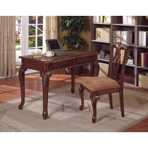 Beautiful Tolliver Writing Desk And Chair Set