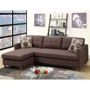Brown Sectionals You\'ll Love | Wayfair