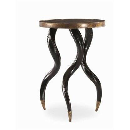 Grand Tour Horn End Table