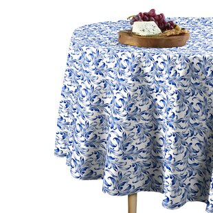48 Inch Round Tablecloth | Wayfair