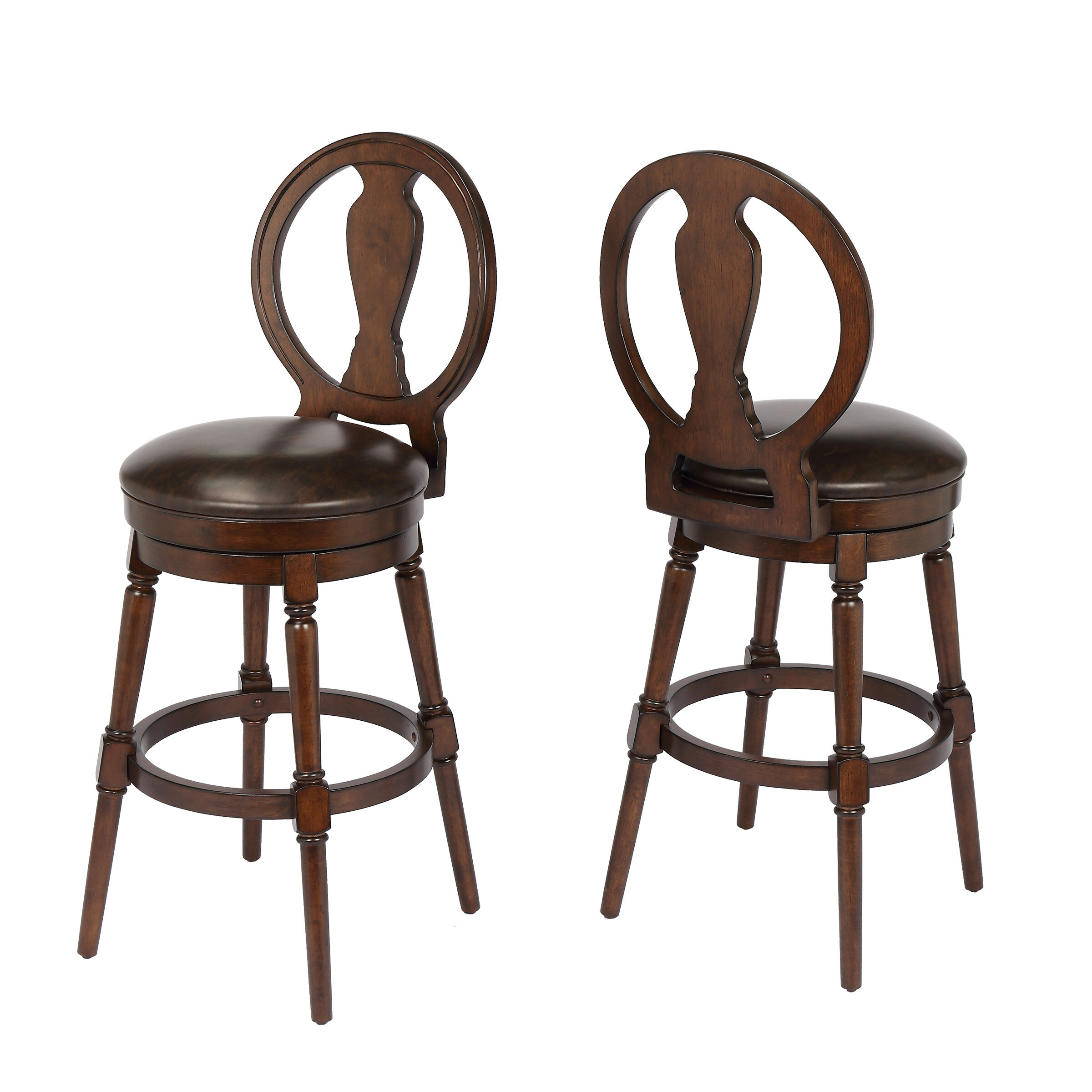 "Alcott Hill Hasse 29"" Swivel Bar Stool"