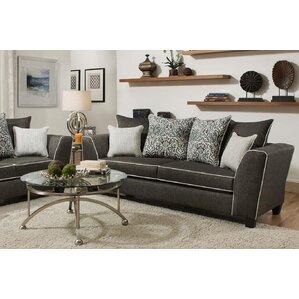 Teterboro Vivid Onyx Sofa by Latitude Run