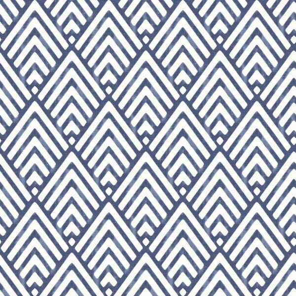 Nu 18 X 20 5 Quot Arrowhead Deep Blue Wallpaper Roll