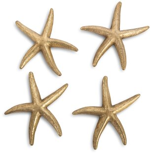 4 Piece Starfish Wall Decor Set
