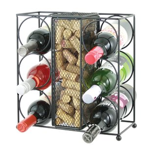 Vasquez 6 Bottle Tabletop Wine Rack