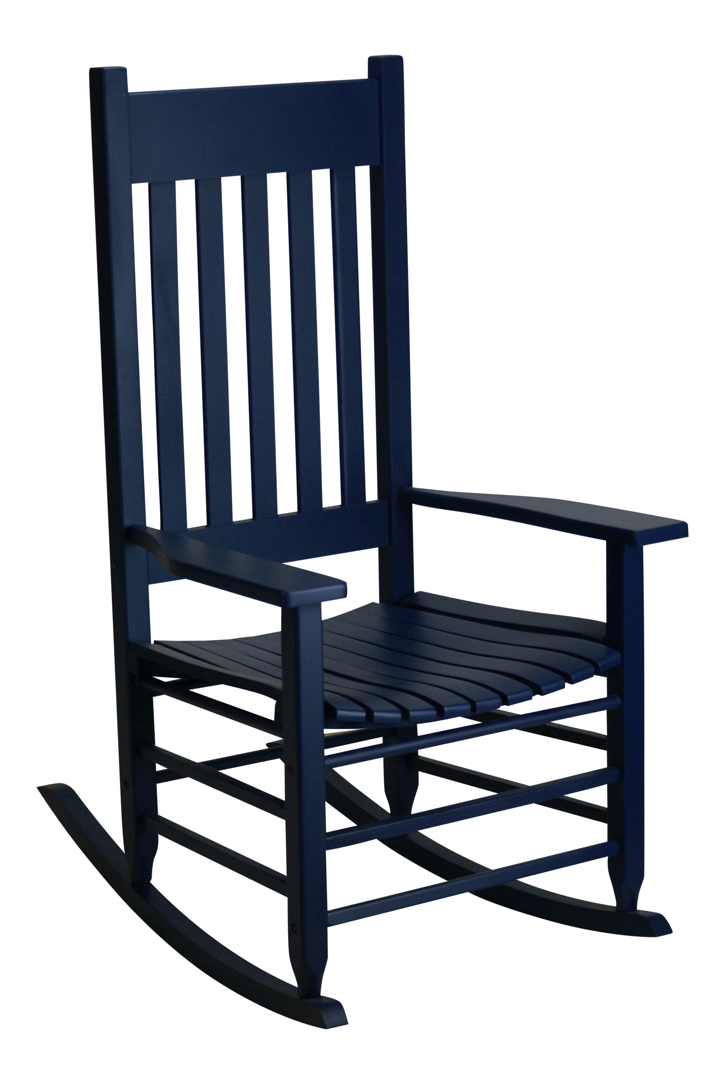 sc 1 st  Wayfair & August Grove Franklin Springs Rocking Chair u0026 Reviews | Wayfair