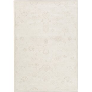 Price comparison Pickrell Distressed Cream/White Area Rug By One Allium Way