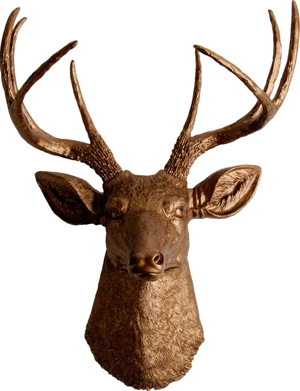Marvelous The Frankfurt Deer Head Wall Décor