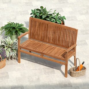 Awesome Back Included Rustic Wood Benches Youll Love Wayfair Caraccident5 Cool Chair Designs And Ideas Caraccident5Info