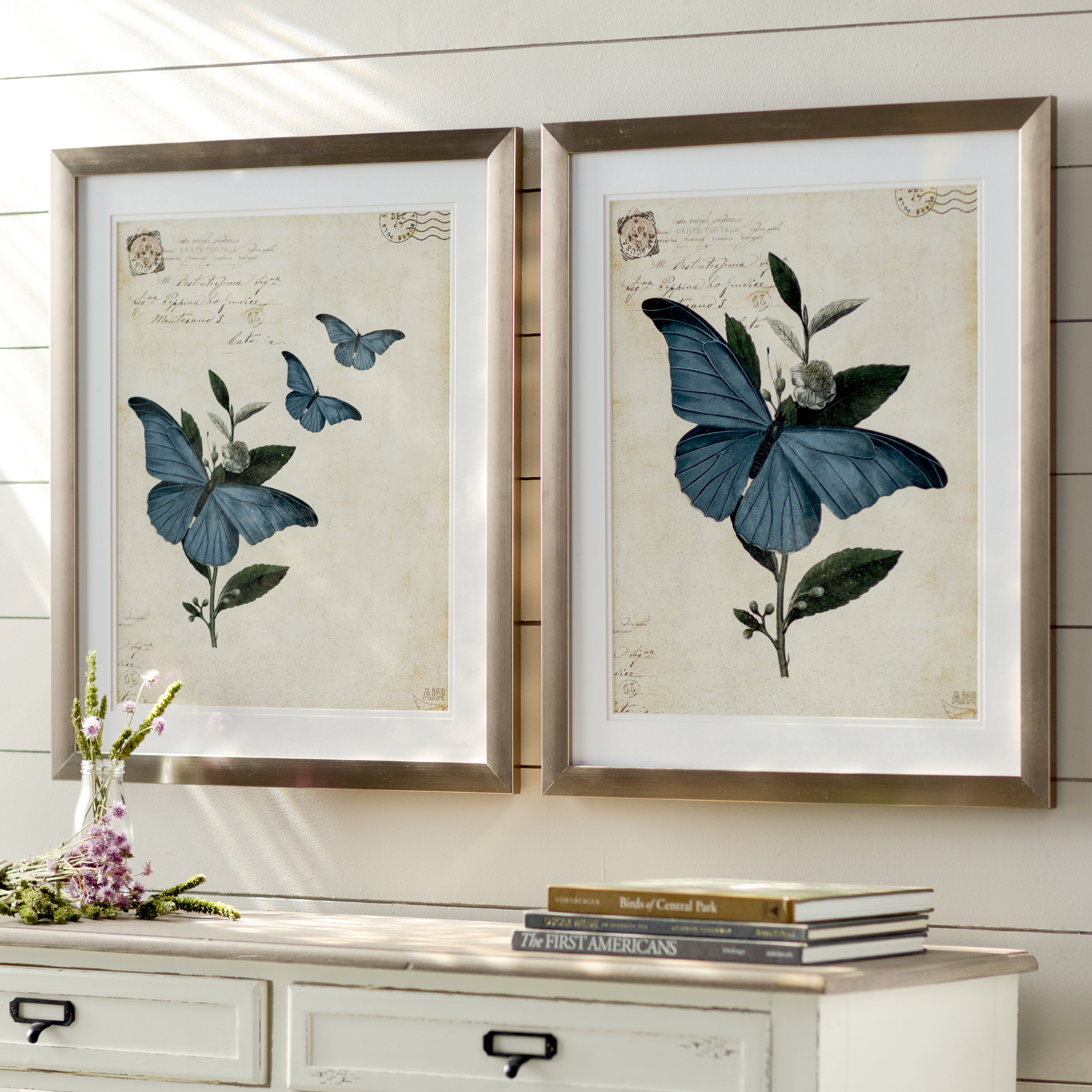 Toussaint Framed Graphic Art Set & Reviews | Birch Lane