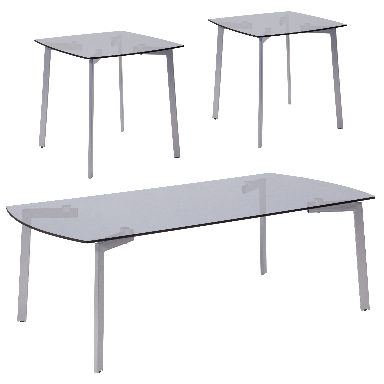 36c382811597e Wrought Studio Cybulski 3 Piece Coffee Table Set