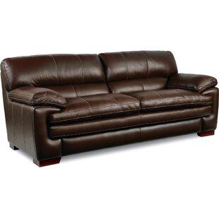 Violino Leather Sofa | Wayfair