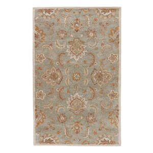 Thornhill Rug in Blue & Ivory
