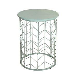Corben Geometric End Table by Ebern Designs