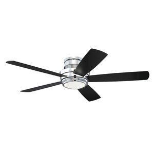 Modern chrome ceiling fans allmodern save to idea board mozeypictures Gallery