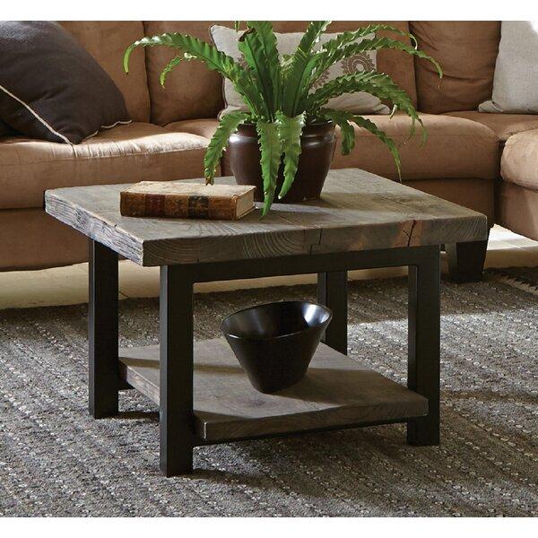 Loon Peak Somers 27 Reclaimed Wood Square Coffee Table Reviews Wayfair