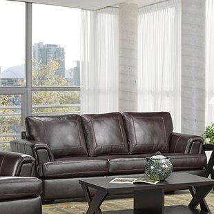 Verano Italian Leather Sofa