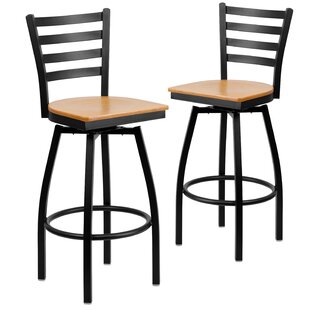 Beige Traditional Commercial Bar Stools You'll Love | Wayfair