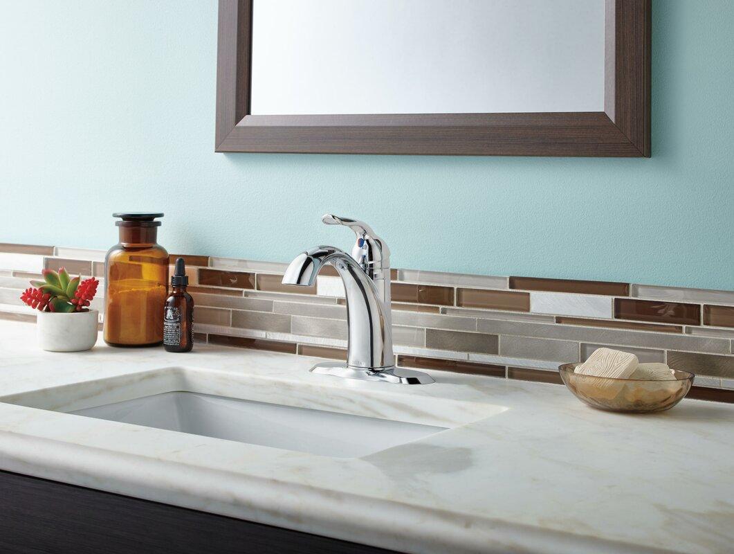Delta Faucet 3538 Mpu Dst Lahara Polished Chrome Two: Delta Lahara Single Hole Single Handle Bathroom Faucet