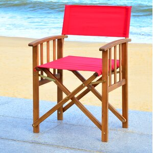 dobson director arm chair set of 2 - Outdoor Folding Chairs