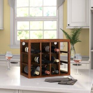 Leopold 12 Bottle Tabletop Wine Rack