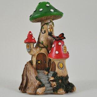 Mushroom Tree House Fairy Garden
