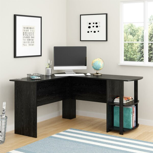 A Moveable Computer Desk That Retains You Nicely Organized Desk With Printer Shelf | Wayfair