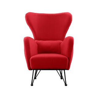 Red Wingback Accent Chairs Youu0027ll Love | Wayfair