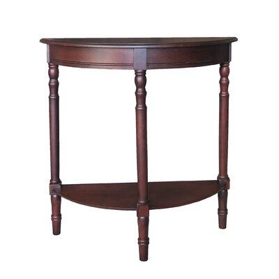 half circle end side tables you 39 ll love wayfair. Black Bedroom Furniture Sets. Home Design Ideas