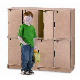 1 Tier 4 Wide Home Locker