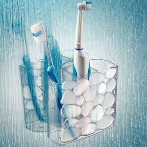 Pebblz Suction Toothbrush Holder