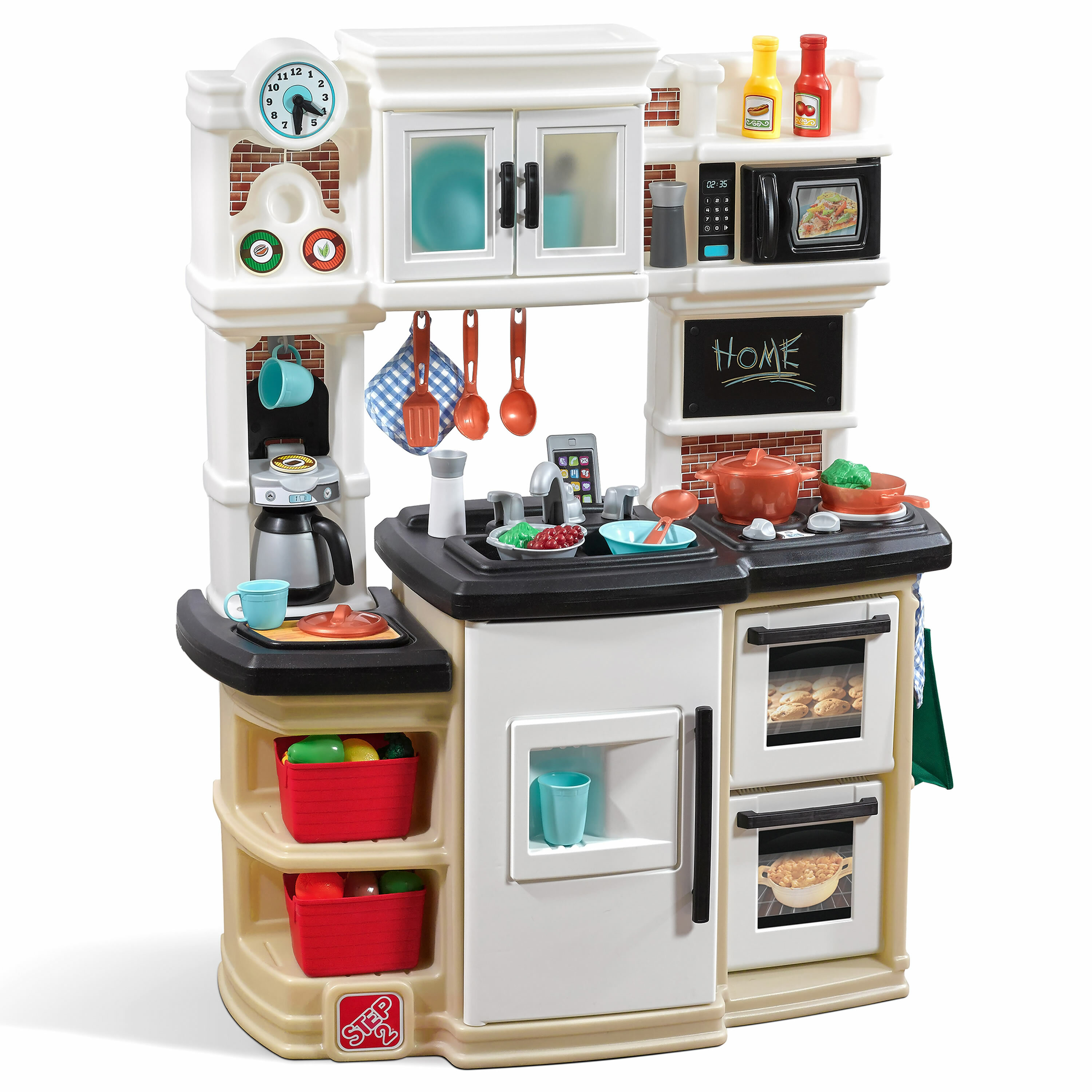 Step2 Great Gourmet Kitchen Set & Reviews | Wayfair on top best kitchens, top movie kitchens, new updated kitchens, apron sinks for kitchens, top country kitchens, top dream kitchens,