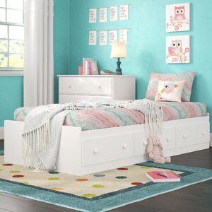 Savannah Twin Mates Bed with 3 Drawers
