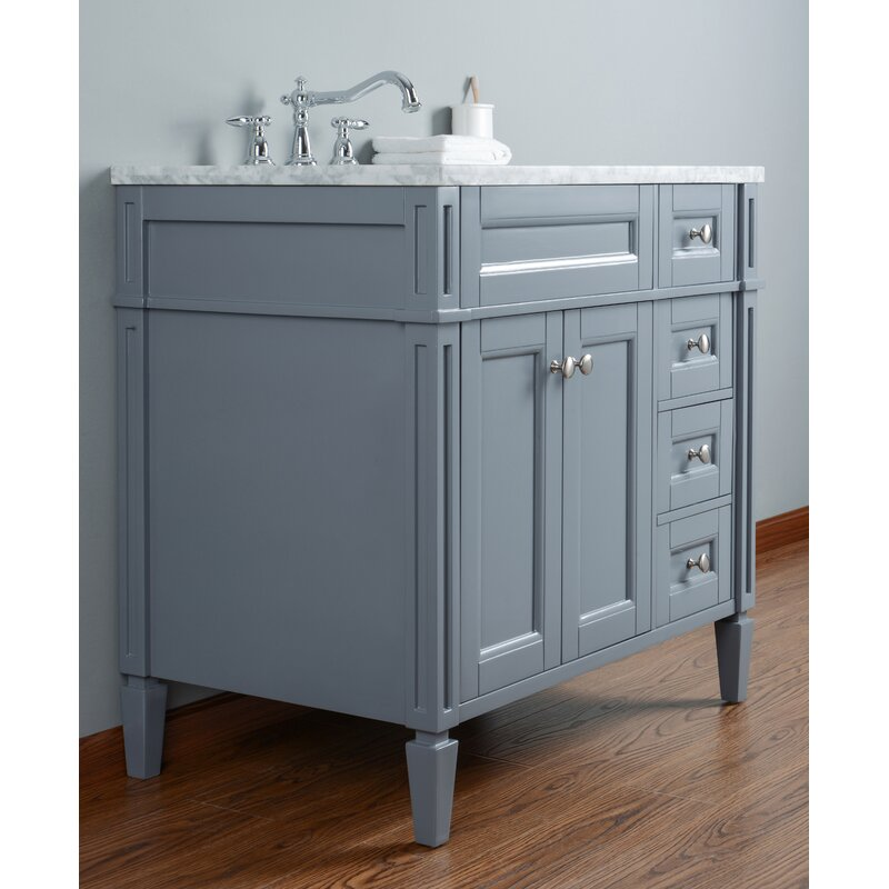 Mauricio French 36 Single Bathroom Vanity Set