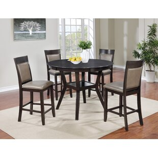 Emilsy 5 Piece Counter Height Dining Set