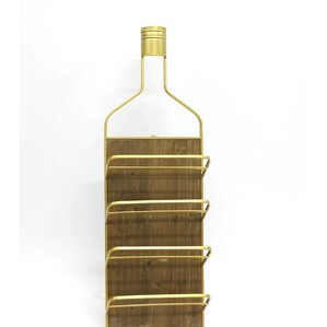 8 Bottle Floor Wine Bottle Rack by Jeco Inc.
