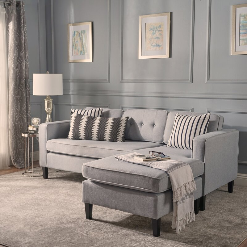 Chiltern Modular Sectional Small Sofas You ll Love  Wayfair