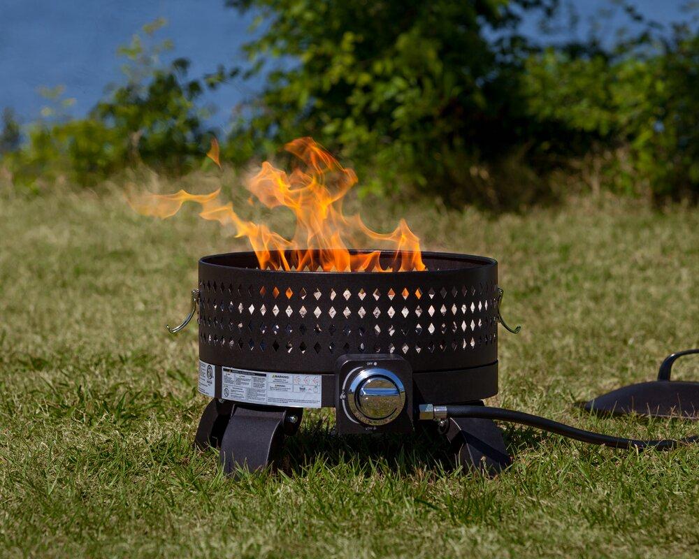 Portable Steel Propane Fire Pit Amp Reviews Joss Amp Main