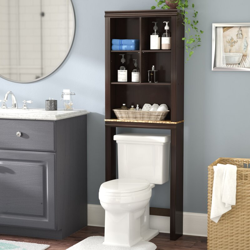 """stunning bathroom shelves over toilet storage 